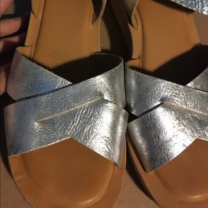 Kork-Ease wedge sandals.